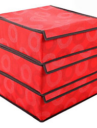 Storage Boxes Storage Units Non-woven withFeature is Open , For Underwear
