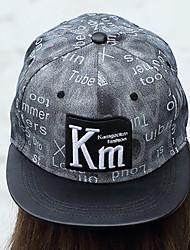 Men Women 's Summer Cotton Letters Printed Street Hip Hop Flat Sun Casual Baseball Hats