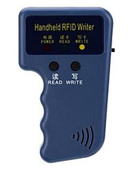 Portable Handheld 125KHz RFID ID Card Writer/Copier Duplicator with 3 Writable ID Key Fobs and 3 Writable ID Cards