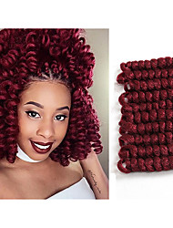 Kanekalon crochet Braiding Hair Crochet Braids Curlkalon Hair Extension Saniya CURL Bouncy Curly Curlkalon Crochet Hair 20roots/pack 5packs make head