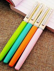 Caneta Caneta Canetas Caneta,Metal Barril Preto cores de tinta For material escolar Material de escritório Pacote de