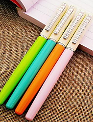 Pen Pen Fountain Pens Pen,Metal Barrel Black Ink Colors For School Supplies Office Supplies Pack of