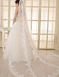 3 Meters Of Big Wave Lace Yarn Lace Veil Wedding Veil Tail Long Paragraph Bride Wedding Accessories