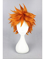 Short Haikyuu!!-hinata syouyou Orange 14inch Anime Cosplay Wigs CS-186K