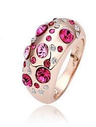 May Polly  Fashion crystal ring