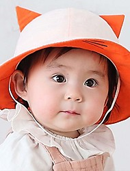 Children's Lovely Fashion Flat  Lovely Fashion Basin cChildren Fisherman Cap Sun Hat Cat Ear Cap
