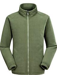 Sweatshirt Homme Décontracté / Quotidien Couleur Pleine Mao non élastique Polyester Manches longues Printemps Automne