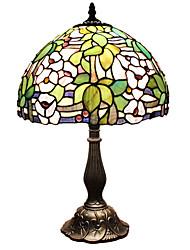 40 Tiffany Luminária de Escrivaninha , Característica para Proteção para os Olhos , com Pintado Usar Interruptor On/Off Interruptor