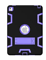 Para Antichoque Com Suporte Rotação 360° Capinha Corpo Inteiro Capinha Padrão Geométrico Rígida PC para Apple iPad Pro 9.7 ''