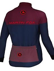 Cycling Jersey Men's Long Sleeve Bike Breathable Quick Dry Tops Terylene Fashion Spring Summer Fall/AutumnTaekwondo Boxing Exercise &