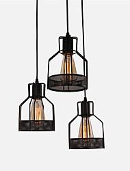 Lámparas Colgantes ,  Rústico/Campestre Cosecha Retro Pintura Característica for Mini Estilo MetalComedor Cocina Vestíbulo Habitación de