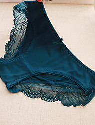 Lace Solid Shaping PantiesCotton