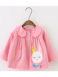 Girls' Patchwork Down & Cotton Padded Spring