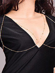 Women's Body Jewelry Body Chain Fashion Copper Irregular Jewelry For Party Special Occasion Casual 1pc