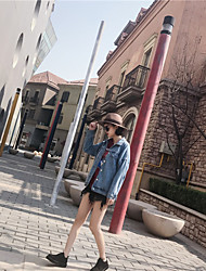 Sign ~ street retro BF loose denim garments students wild Spring Tide