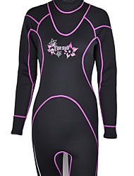 Sports Women's Men's 3mm Full Wetsuit Breathable Quick Dry Anatomic Design Compression Thick Neoprene Diving Suit Long Sleeve Diving Suits