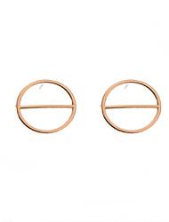 Stud Earrings Alloy Geometric Euramerican Fashion Geometric Non Stone Jewelry Daily Casual 1 pair
