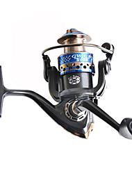 Moulinet pour pêche Moulinet spinnerbaits 5.2:1 9 Roulements à billes Droitier Pêche générale-GB2000