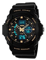SKMEI 0955 la femme de montres hommes montagne montre de sport en plein air important double escalade imperméable mâle montre électronique