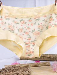 Imprimé Fleur Sous-vêtements MoulantsCoton