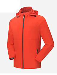 LEIBINDI®Men's Jackets Fall Spring Climbing Outdoor Sport Hiking Waterproof Windproof Jacket coat