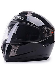 YEMA 828 Motorcycle Helmet Summer ABS Anti-UV Full Face Helmet Suit For 54-61cm with Dual-Lens