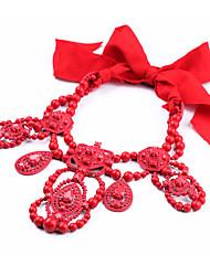 Collier en col de femme collier irrégulier chrome bohème pour cadeau valentine 1pc