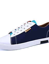 Running Shoes Men's Shoes Casual Canvas Fashion Sneakers Blue / Grey / Black