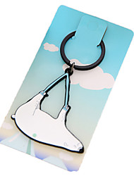 Key Chain Key Chain White Plastic