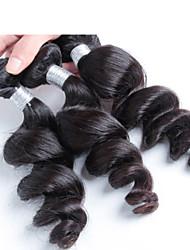 cabelo ondulado cacheados solto peruano, peruano extensão do cabelo virgem de grau superior