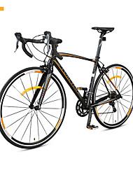 Cruiser Bike Cycling 16 Speed 26 Inch/700CC SHIMANO V Brake Non-Damping Aluminium Alloy Frame Aluminium Alloy Aluminium Alloy Red Orange