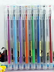 1 Box of 8 Color Gel Pen 8 pcs Per Box
