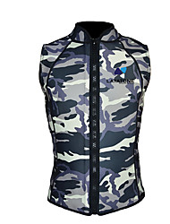 Black And White Camouflage Thermal Vest Life Jacket