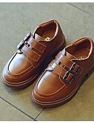 Girls' Flats Comfort Cowhide Casual Flat Heel