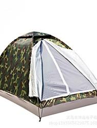 1 Pessoa Um Quarto Barraca de acampamentoEquitação Campismo Viajar-Camuflagem