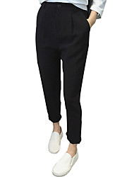 Versión coreana de harem pantalones femeninos pantyhose 2017 primavera y el verano de nuevo tamaño grande fue de cintura fina pantalones