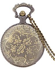 JUBAOLI Masculino Relógio de Bolso Quartzo / Lega Banda Casual Bronze Bronze