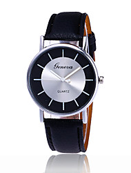 Fashion Women Geneva Quartz Watch Casual Luxury Leather Strap Watches Hot Selling