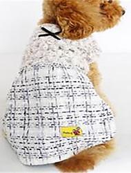 Cachorro Vestidos Roupas para Cães Casual Formais