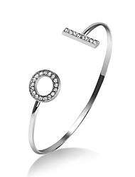 Femme Manchettes Bracelets Bijoux Naturel Amitié Style Punk Fait à la main bijoux de fantaisie Alliage Forme de Cercle Bijoux Pour