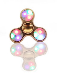 LED Fidget Spinner Toy Made of Titanium Alloy Ceramic Bearing Spinning Time High-Speed