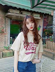 знак фантазии корейской версии печатной футболки