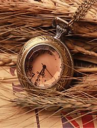 Мужской Карманные часы Кварцевый сплав Группа Бронза