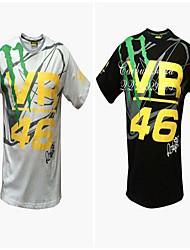 Motorrad-Kleidung Kurzarm-atmungsaktive Feuchtigkeits-Schweiß-Schnelltrocknung Kleidung T-Shirt Sommer Unisex