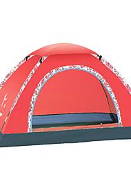 FLYTOP 3-4 personnes Tente Unique Tente de camping Tente pliable Etanche Pare-vent Résistant aux ultraviolets Pliable Respirabilité pour