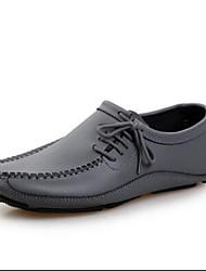 Herren-Sneakers Frühjahr Komfort Rindsleder Nappaleder lässig