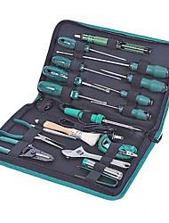 Sata ferramentas de manutenção do computador 19 peças chave ajustável 03770 conjunto de ferramentas manual