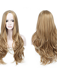 New Arrival Likes Pictures Color Wigs Long Wavy Hair Synthetic Wig For Women Heat Resistant Natural Wig