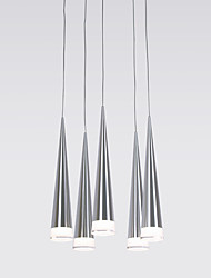 Pendant Light ,  Modern/Contemporary Chrome Feature for LED Metal Living Room Bedroom Dining Room Kitchen