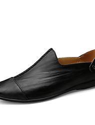 Herren Sneakers Frühjahr Herbst Komfort PU lässig dunkelbraun hellbraun schwarz